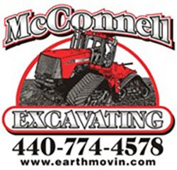 McConnell Excavating Logo