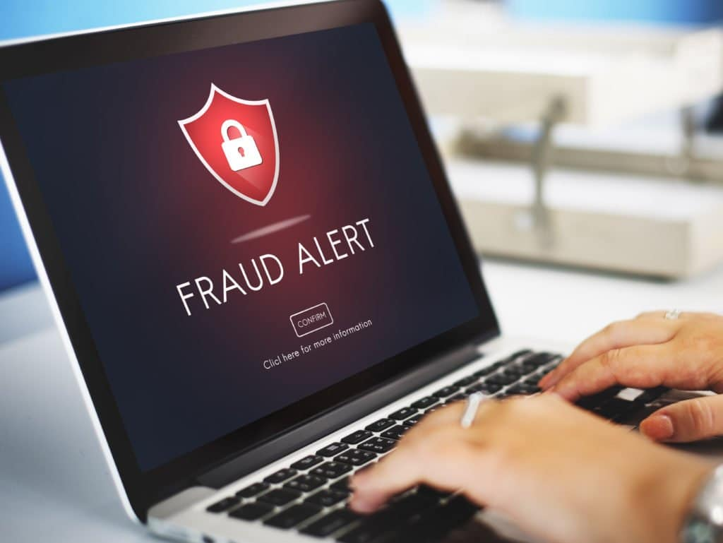 unemployment fraud computer alert